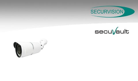 SecurVision SecuVault SS-2553D-Z3AA Day/Night Smart Focus Bullet Cam