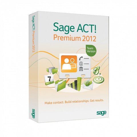 Sage ACT! Premium 2012 with Microsoft SQL Standard - Digital license - MyChoiceSoftware.com