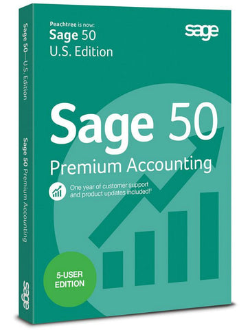 Sage 50 Premium Accounting 2015 5-Users - MyChoiceSoftware.com