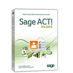 Swiftpage Sage ACT! 2012 Pro - MyChoiceSoftware.com