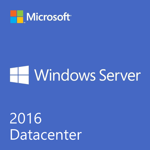 Windows Server 2016 Datacenter OEI DVD - 16 Core