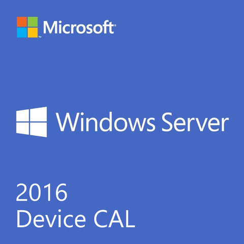Windows Server 2016 Standard - 5 Client Device CAL