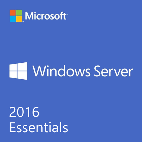 Microsoft Windows Server Essentials 2016 1 Server Download License.