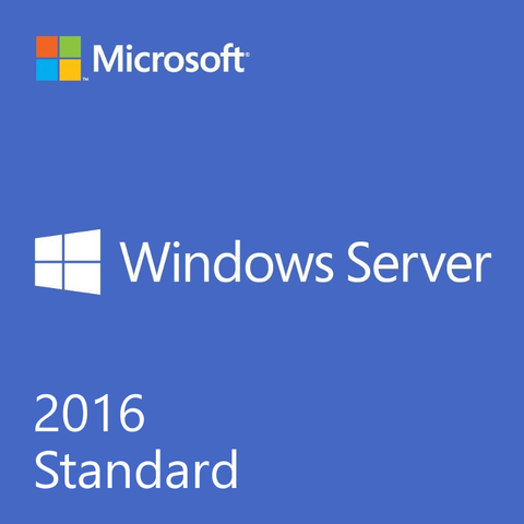 Windows Server 2016 Standard OEI DVD - 24 Core