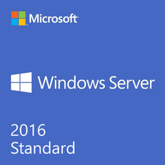 Windows Server 2016 Standard OEI DVD - 16 Core