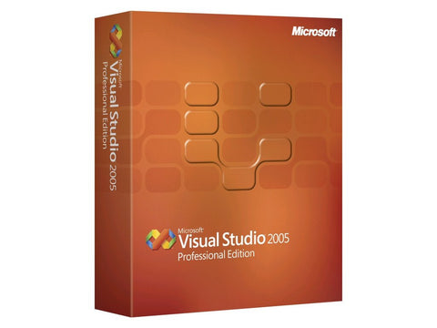 Microsoft Visual Studio 2005 Professional License - MyChoiceSoftware.com