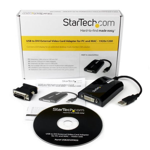 StarTech USB to DVI Adapter - MyChoiceSoftware.com