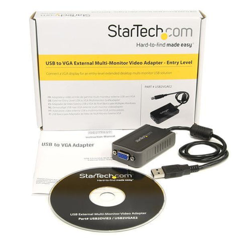 StarTech USB to VGA Multi Monitor External Video Adapter - MyChoiceSoftware.com
