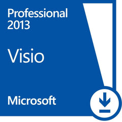 Microsoft Visio Professional 2013 - PC - 1 PC - License - MyChoiceSoftware.com - 2