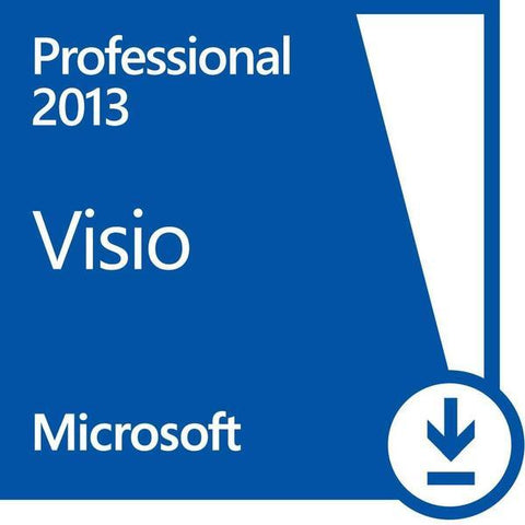 Microsoft Visio Professional 2013 License.