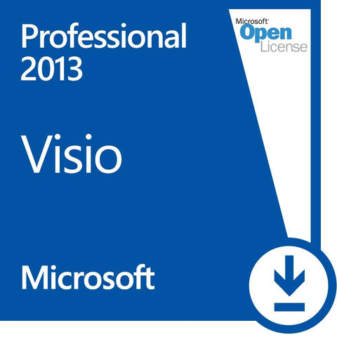 Microsoft Visio 2013 Professional Open License - MyChoiceSoftware.com - 1
