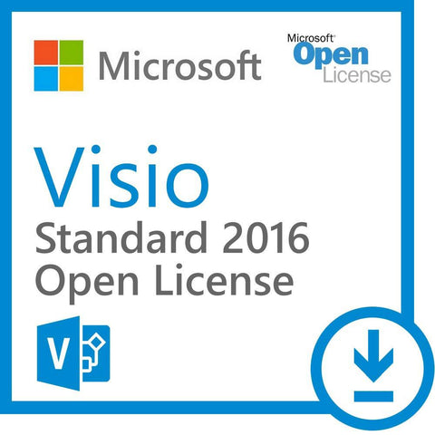 Microsoft Visio 2016 Standard Open License