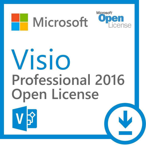 Microsoft Visio Professional 2016 Open Business License