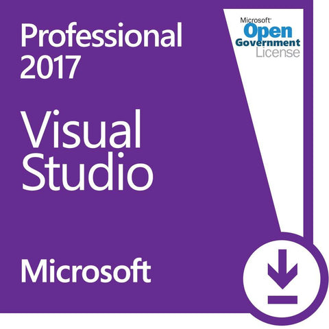 Microsoft Visual Studio 2017 Professional - Government | Microsoft