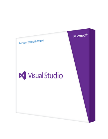 Microsoft Visual Studio Premium 2013 with MSDN (RENEWAL) - Retail Box - MyChoiceSoftware.com