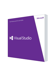 Microsoft Visual Studio Professional 2013 Retail License - MyChoiceSoftware.com