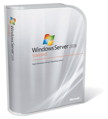 Microsoft Windows Server 2008 R2 Standard w/5 CALs OEM Branded - MyChoiceSoftware.com