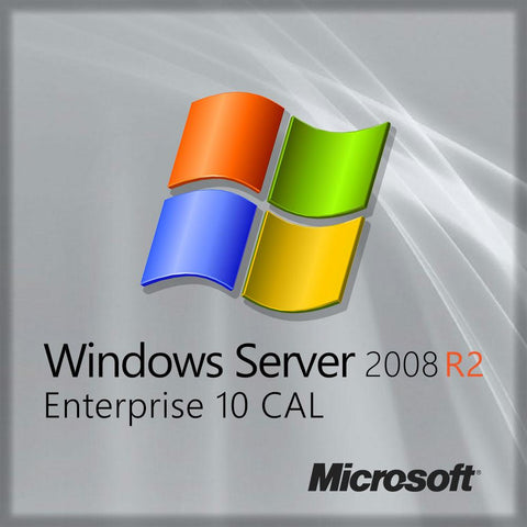 Microsoft Windows Server 2008 Enterprise R2 Sp1 10 Cal OEM Branded