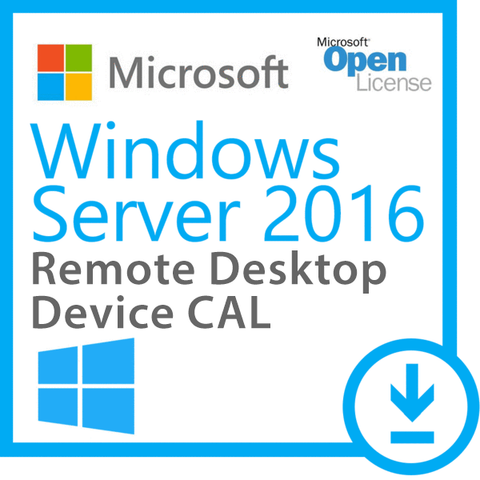 Microsoft Windows Server 2016 Remote Desktop - 5 Device CAL | Microsoft