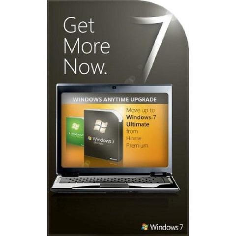 Microsoft Windows 7 Ultimate - 1 PC - Anytime Upgrade License - MyChoiceSoftware.com