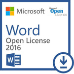 Microsoft Word 2016 for PC - Open License - MyChoiceSoftware.com - 1