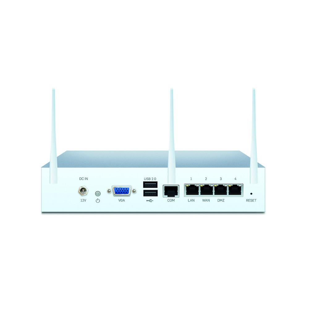 Sophos XG 115W Wireless Next-Gen UTM Firewall TotalProtect Bundle with 4 GE  ports, FullGuard License, 24x7 Support - 3 Year