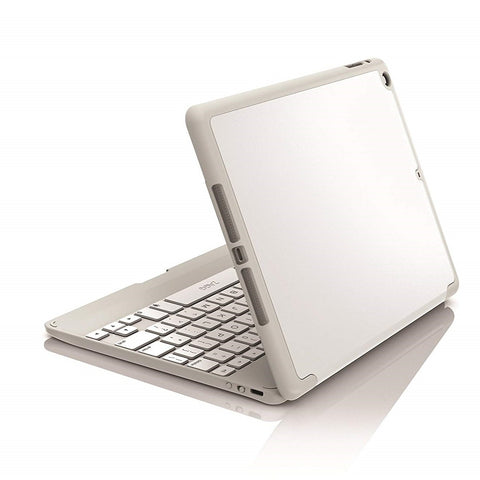 ZAGG Folio Hinged Case with Keyboard for Apple iPad Air White Cases Keyboards Sleeves