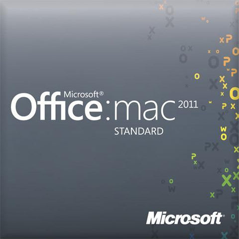 Microsoft Office 2011 Standard License (Email Blast Promotion)
