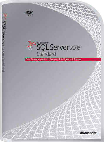 Microsoft SQL Server 2008 Standard With 10 Cals