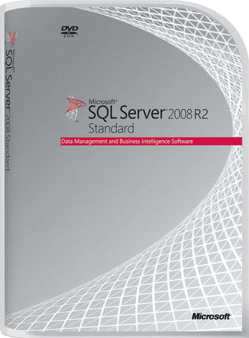 Microsoft SQL Server 2008 R2 Standard w/5 cals - Academic License