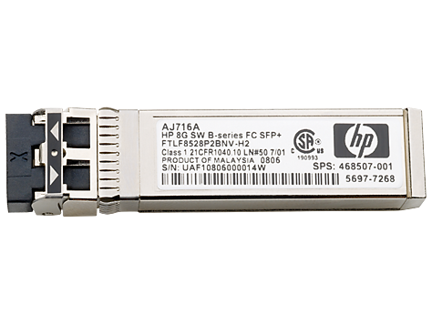 Hewlett Packard Enterprise Hp B-series 16gb SFP Xcvr