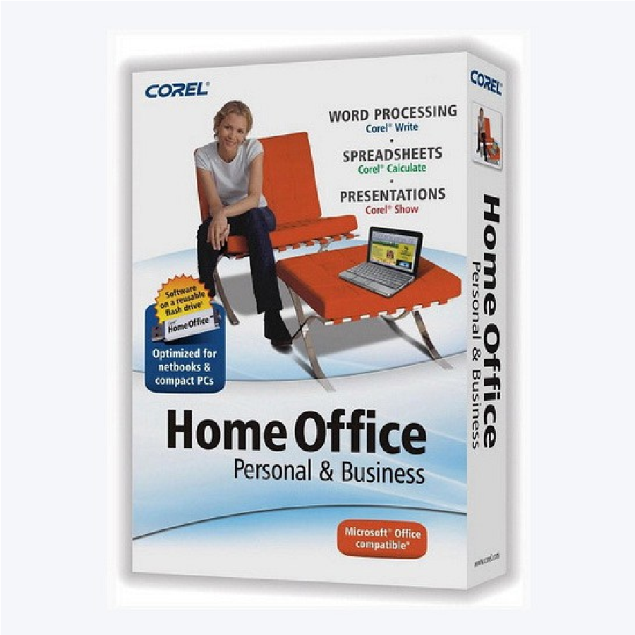 Corel Home Office Personal Business X4 Retail Box