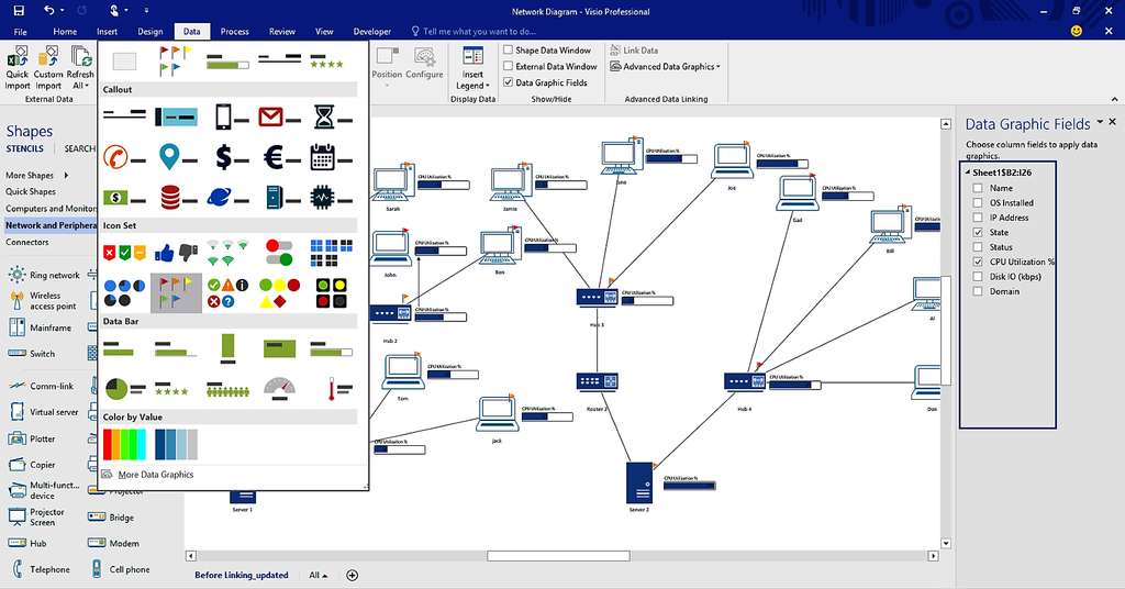 Image result for visio professional 2016