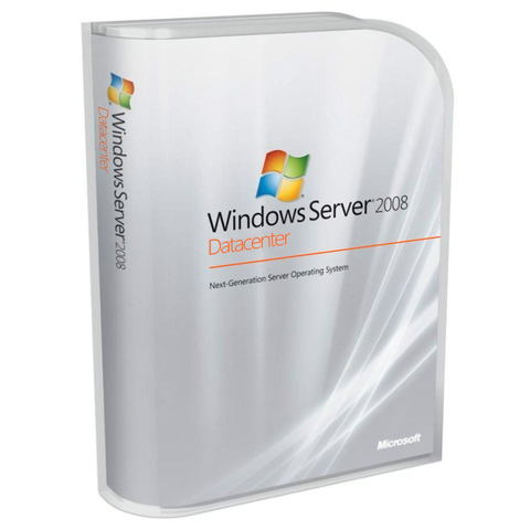 Microsoft Windows Server 2008 32/64 bit Datacenter - Instant License