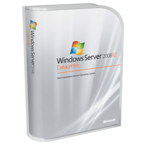 Microsoft Windows Server 2008 R2 Datacenter - 2 CPU