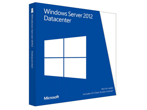 Microsoft Windows Server 2012 Datacenter 64 Bit