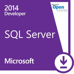 Microsoft SQL Server Developer Edition 2014 - Open License