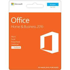 Microsoft Office for Mac Home & Business 2016 License