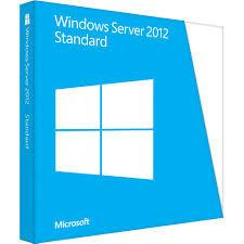 Microsoft Windows Server 2012 Standard License 64 Bit Box.