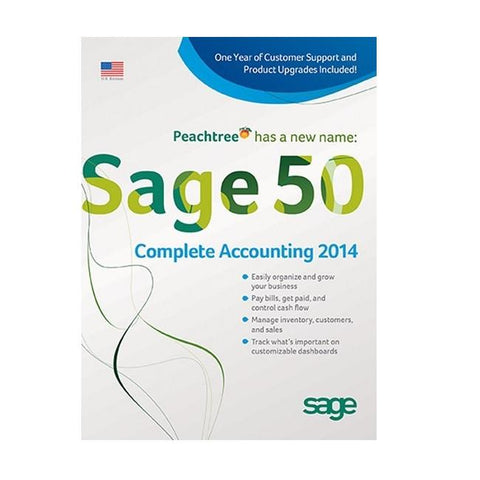 Sage 50 Premium Accounting 2014 - 5 Users - Retail Box - MyChoiceSoftware.com