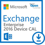 Microsoft Exchange 2016 Enterprise Device CAL - Open Government