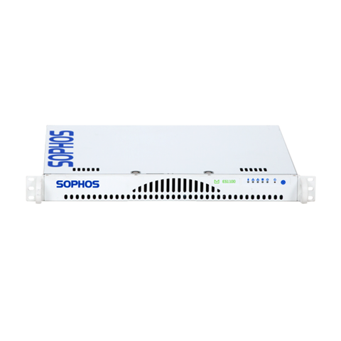 Sophos ES1100 Email Appliance, Up to 200,000 Messages per Hour, 1U, Gigabit Ethernet