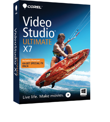 Corel  VideoStudio Ultimate X7 - 1 PC License - MyChoiceSoftware.com