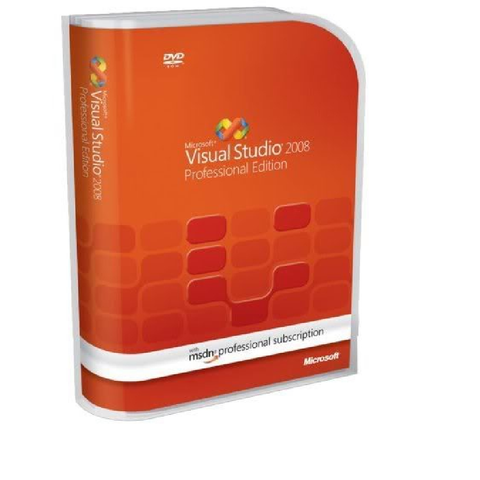 Microsoft Visual Studio Professional 2008 Retail Box