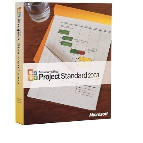 Microsoft Project 2003 Standard Retail Box - MyChoiceSoftware.com