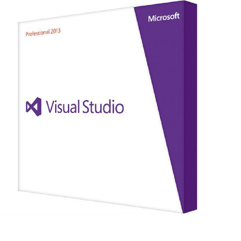 Microsoft Visual Studio Professional 2013 Open Upgrade Retail License