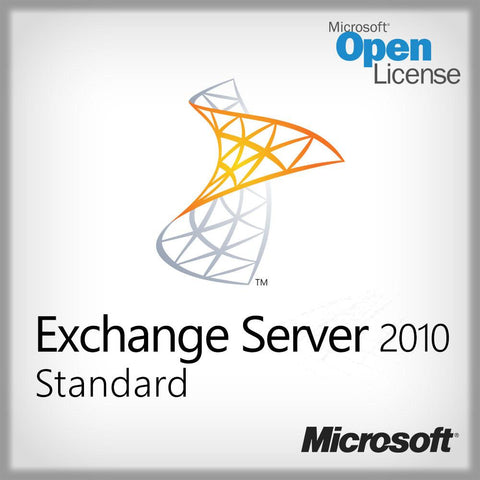 Microsoft Exchange Server 2010 Standard - License