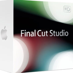 Apple Final Cut Studio Retail Box for Mac - MyChoiceSoftware.com