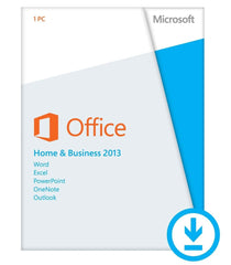 Microsoft Office Home and Business 2013 - PC - License - English - MyChoiceSoftware.com - 1