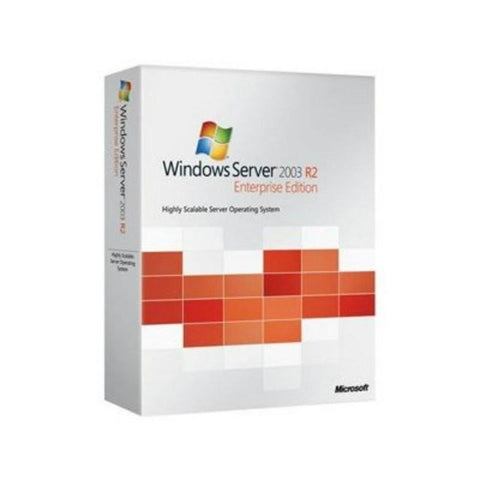Microsoft Windows Server 2003 Enterprise X64 Edition R2.